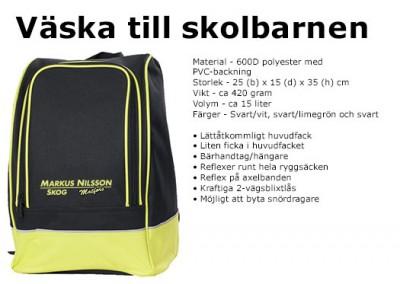 Väska till skolbarnen