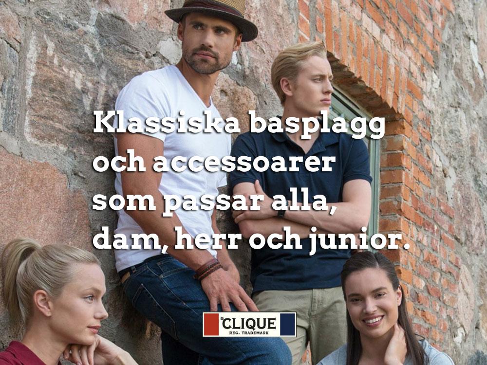 Clique – Munkjackor, T-shirt, Piké