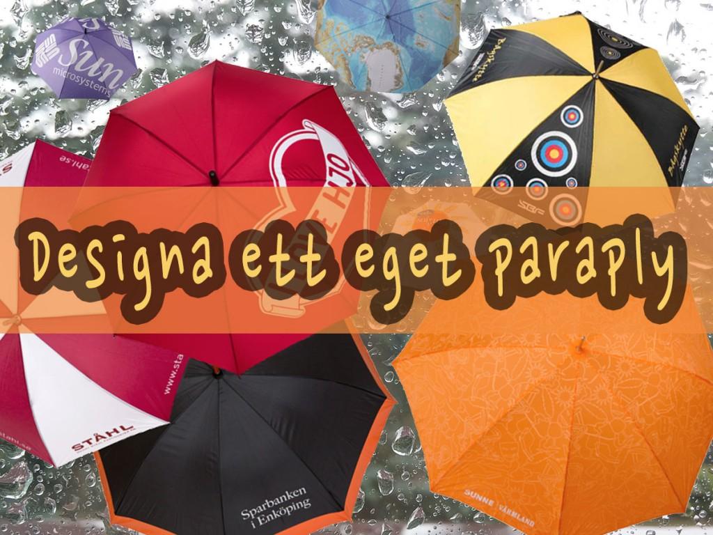 Designa ett eget paraply